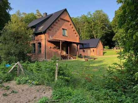 Forsthaus 3-Raum-Wohnung mit Einbauküche in Plau am See OT Karow