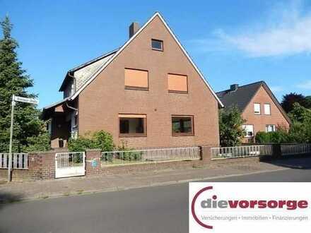 Schöne geräumige und helle 4 Zimmer Erdgeschosswohnung mit Garage in Sulingen zu vermieten!
