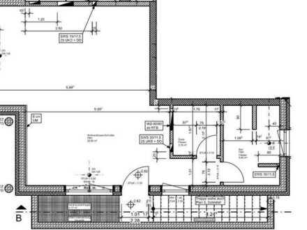 Erstbezug: ansprechende 1-Zimmer-Wohnung mit EBK in Lauben
