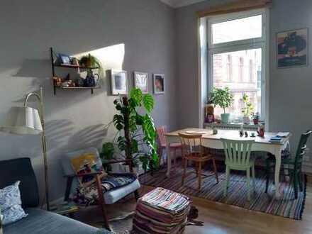 möblierte Wohnung 2 ZKB ca 62qm zur Zwischenmiete FFM Innenstadt 01.07.19-28.02.2020