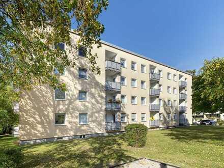 Vermietete 3-Zi.-Wohnung mit West-Balkon - Zukunftsvorsorge auf clevere Art