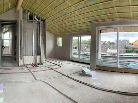 Erstbezug: stilvolle 5,5-Zimmer-Penthouse-Wohnung mit EBK und Balkon in Reutlingen