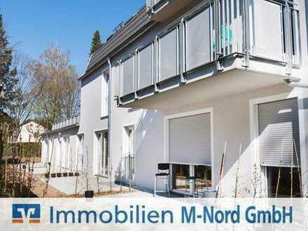Neubau: 2,5-Zimmer-Erdgeschosswohnung mit Süd-Terrasse in ruhiger Wohnlage