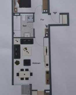 Gepflegte DG-Wohnung mit zwei Zimmern und Einbauküche in Neumarkt in der Oberpfalz