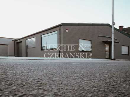 Gropiusstraße    575 m² beheizbare Halle    100 m² Büro    Rolltor    Frei ab sofort