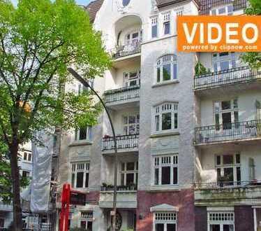 Für 5 Jahre zu mieten! Semperstraße! Begehrenswerte 3-Zimmer-Jugendstilwohnung in Hamburg-Winterhude
