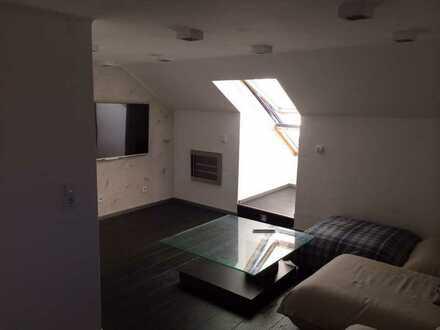 Schöne renovierte Dachwohnung.In ruhiger Lage.