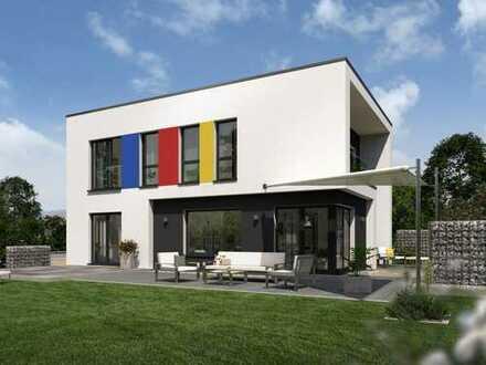 Großzügige moderne Stadtvilla im Bauhausstil!