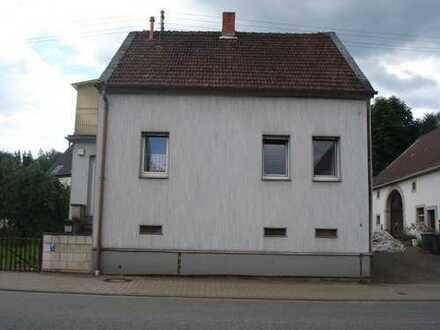 Freistehendes Einfamilienhaus in Ohmbach bei Kusel zu verkaufen
