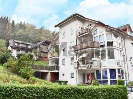 Sonnige Terrassenwohnung mit Doppelgarage in Schriesheim-Altenbach