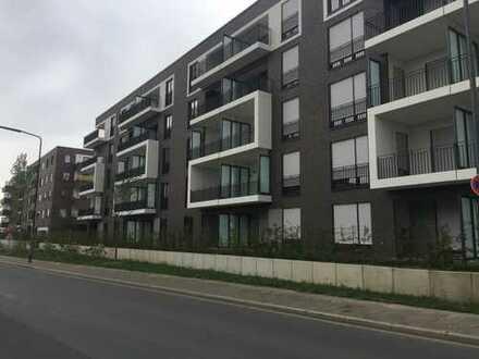 Neubau in Düsseldorf-Heerdt - Moderne Mietwohnung mit 3 Zimmerwohnung mit 2 Loggien für Ihre Familie