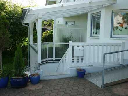 Stilvolle 2-Zimmer-Wohnung mit überdachter Terrasse und Einbauküche in Memmingen für eine Person