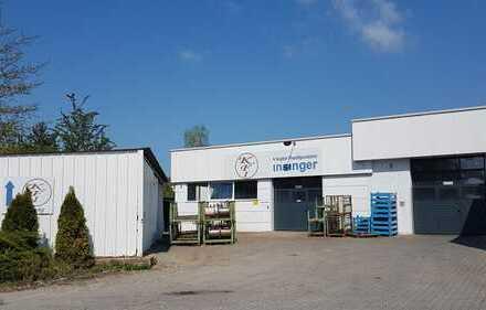 Vermietung von Produktions- oder Lagerhallen in Luhe-Wildenau