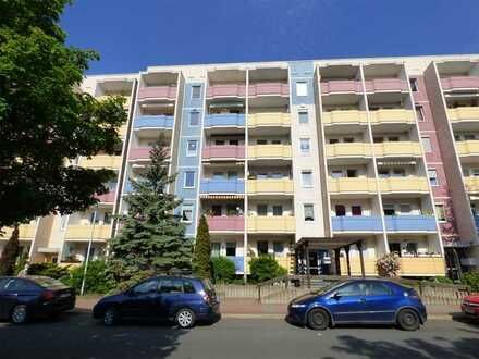 Liebevoll sanierte 3-Raum-Wohnung mit Balkon im 4.Obergeschoss