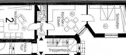 Vollständig renovierte 2,5-Zimmer-EG-Wohnung mit EBK in Krefeld