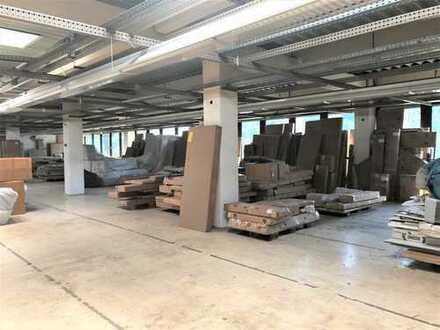 Lagerfläche in Rheinhausen   Rampenandienung   Lastenaufzug   Büro + WC