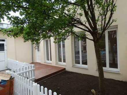 Hinterhaus mit Garten zu vermieten