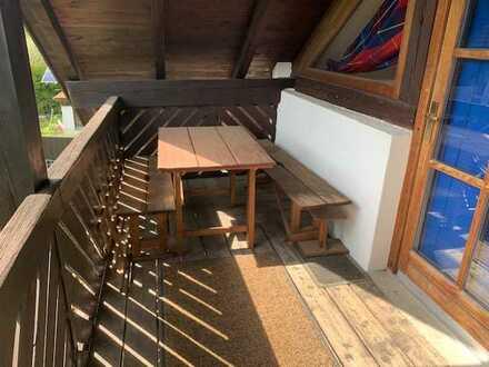 Stilvolle, gepflegte 1-Zimmer-Wohnung mit Balkon und Einbauküche in Olching/Grasslfing