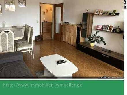 2 Zi./Kü./Bad/Balkon ca. 61,3m² mit Keller u. TG-Stellpl. in Rain!