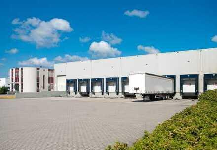 Ca. 8.500 qm Logistikfläche | Rampe | ca. 8 m UKB !