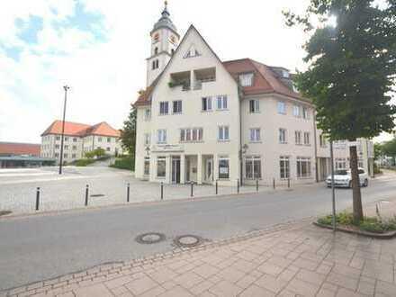 Bezugsfreie Gewerbeeinheit mit 3 TG-Stellplätze in zentraler Lage von Bad Wurzach