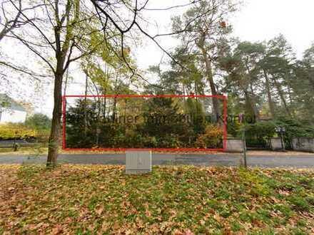 Großzügiges und ruhig gelegenes Grundstück zur Bebauung mit einer Villa oder Architektenhaus