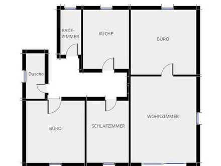 Sehr schöne neu renovierte 4 Zimmer Dachgeschossswohnung