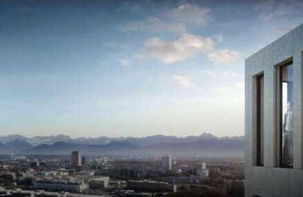 Provisionsfrei - Exklusive Büroetage im Kap West mit Blick über München I 750 m² - 3000 m² I