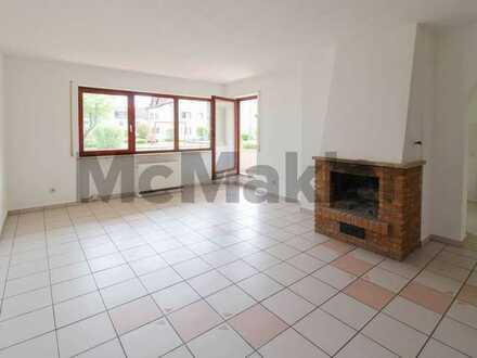 Nahe Bodensee: Gemütliche 3,5-Zimmer-Wohnung mit Balkon und offenem Kamin