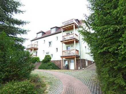 Hübsche 2-Zimmer-Wohnung mit Balkon in herrlich grüner Lage
