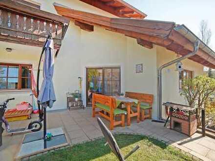 Solide Kapitalanlage in Frieding bei Andechs: 3-Zimmer-Gartenwohnung + Hobbyraum
