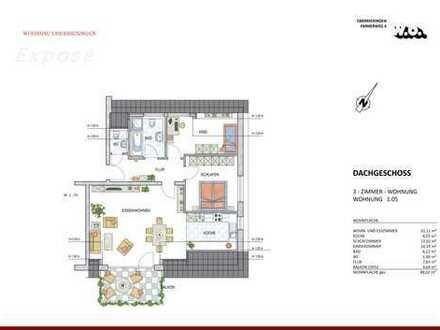 Eine Traum-Dachgeschosswohnung...