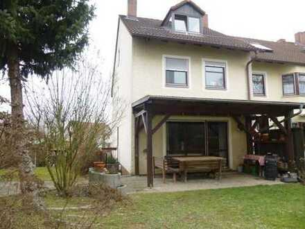 Reiheneckhaus mit Terrasse und Garten, Bamberg Nähe Klinikum