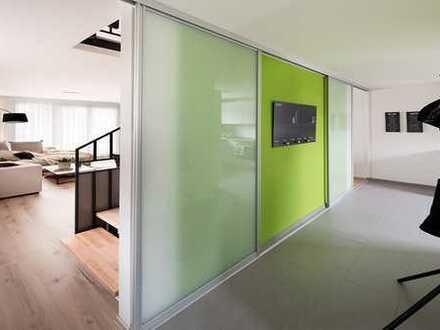 Neubau: Doppelhaushälfte mit großen Garten, Dachterrasse und Keller. Provisionsfrei