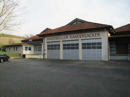 ehemaliger Winzerkeller in Randersacker / Grundstück mit Produktions- & Lagerflächen zu verkaufen