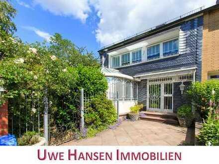 * Metzkausen: Familienfreundliches Einfamilienhaus mit Wintergarten und Garage! *
