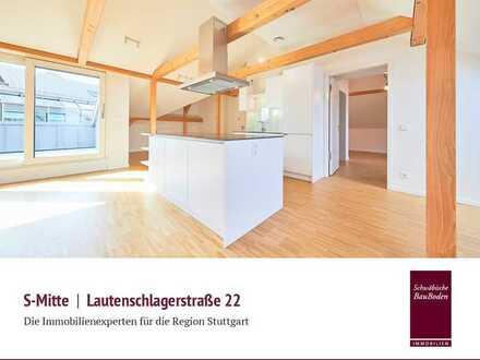Lautenschlager-Areal   Attraktive, hochwertige und sehr helle 3 Zi. Studio-Wohnung, ca. 148 qm +++