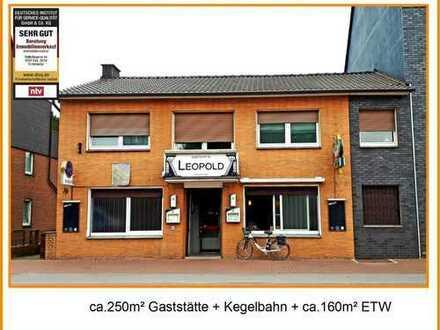 ETW+ Gaststätte zu verkaufen- Anlage oder Eigennutz !!
