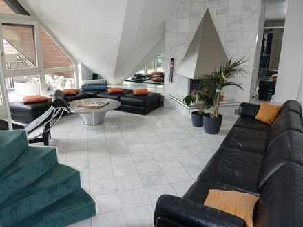 MA-Quadrate: Luxus-Maisonette Wohnung im Penthouse-Stil über den Dächern der Stadt - 3 Dachterrassen