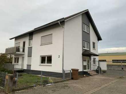 Erstbezug nach Sanierung: schöne 3,5-Zimmer-EG-Wohnung mit Balkon in Hockenheim