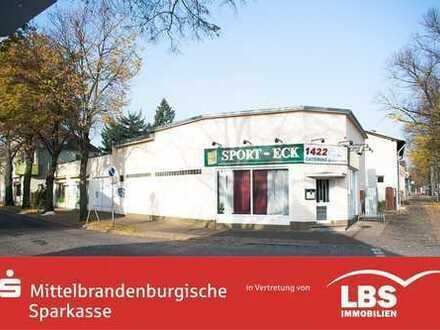 Vermietetes Gewerbegebäude in Hennigsdorf