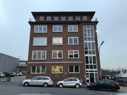 Büroräume mit Blick auf das Dortmunder U