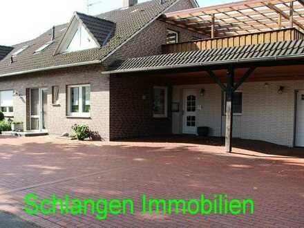Erdgeschosswohnung im 2-Fam. Haus mit Garage und Garten in Saterland - OT Sedelsberg