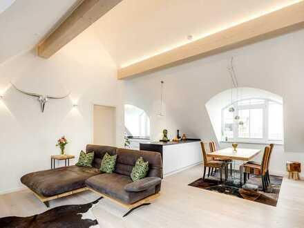 Hochwertige, helle 4-Zimmer-Dachgeschosswohnung