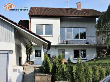 Mehrgenerationenhaus mit großem Grundstück in traumhafter Aussichtslage! ( Allmersbach i. T. )