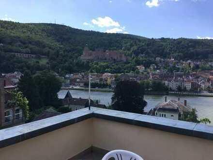 Schöne sechs Zimmer Wohnung auf zwei Etagen in Heidelberg, Neuenheim ggü. Schloss und Altstadt