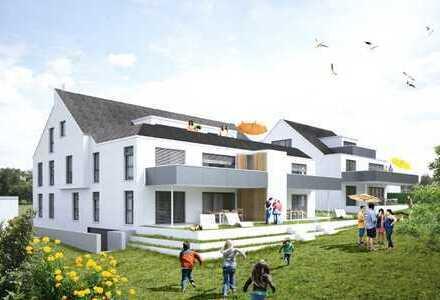 NEUBAU - Stilvolles 10-Familien-Wohnhaus mit Blick ins Grüne !