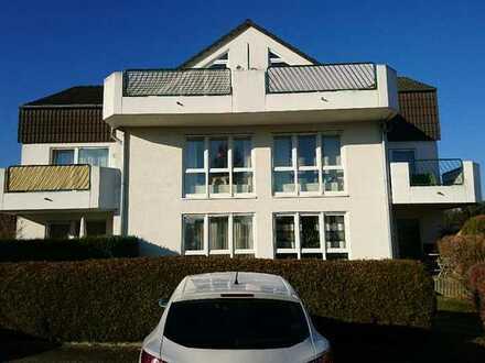 Gepflegte 2-Raum-Dachgeschosswohnung mit Balkon in Eitelborn