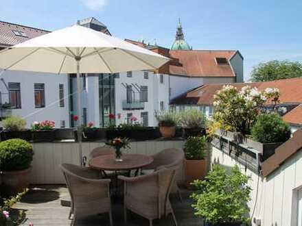 Zentral UND ruhig gelegen - Stilvolle, gepflegte 4-Zimmer-Maisonette-Wohnung