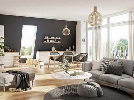 *Erstbezug* 4-Zimmer Dachgeschosswohnung mit EBK und 2 Terrassen *Gut geeignet für Home-Office*